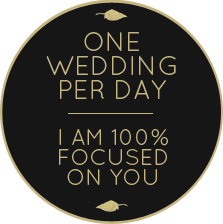 Melbourne Marriage Celebrant - one wedding per day
